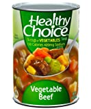 Healthy Choice Vegetable Beef Soup, 15-Ounce Cans (Pack of 12)...