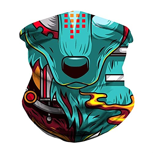 Bandanas Bandera de los hombres de las mujeres Impreso digital Multi funcional Funcional Bufanda sin interrupción Sol de Sombrilla de Sombrilla de Sombrilla de Sombrilla Ciclismo Pagar ( Color : D )