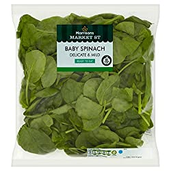 Morrisons Market Street Baby Spinach, 160g