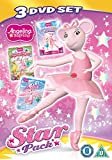 Angelina Ballerina: Star Pack (Triple Pack: Superstar Sisters/Musical Moves/The Ice Ballet) [DVD] [Reino Unido]
