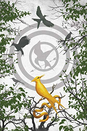 Ballad of Songbirds and Snakes Blank Writing Journal (Hunger Games)