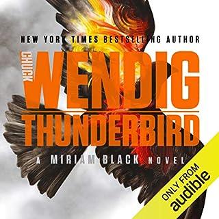 Thunderbird audiobook cover art