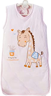 Baby Bunting Bag 4 Seasons Baby Sleep Bag,Pink Horse M