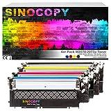 SinoCopy - Juego de 4 cartuchos de tóner con chip (sustituye a HP W2070A, 117A, para impresora Color Laser 150, 150A, 150NW, 178NW, 178NWG, 179, 179FNG, 179FNW, 179FWG)