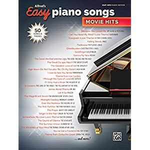 Alfred's Easy Piano Songs — Movie Hits: 50 Songs and Themes