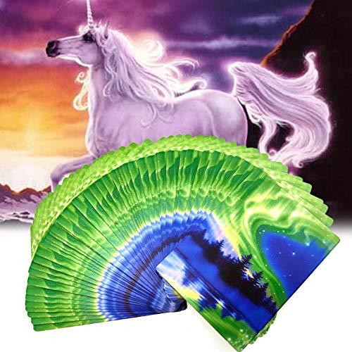 Cracklight Tarjetas de Orakel: 44 tarjetas y libro de acompañamiento, entrada en un reino encantador de la magia y milagros Imaginativa.