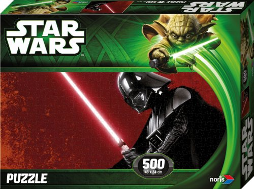 Noris 606031143 - Star Wars Darth Vader Puzzle Episode 2 & 3, 500 Teile