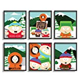 Print'N'Art South Park-Poster, 20,3 x 25,4 cm, ungerahmtes