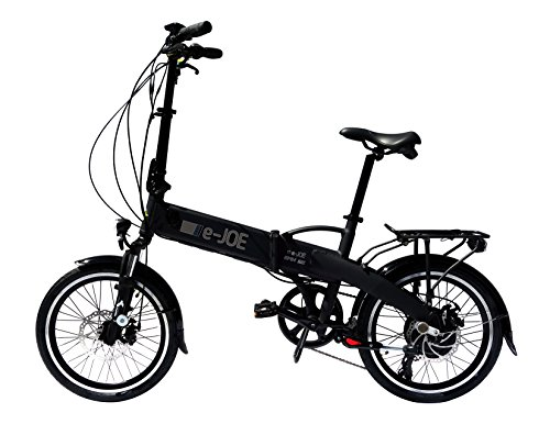e-JOE 2018 EPIK SE Sport Edition Electric Bicycle Electric Folding Bike (Black)