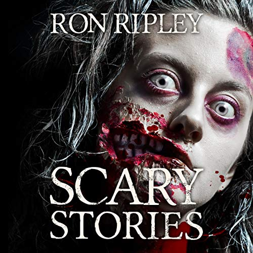 Scary Stories audiobook cover art