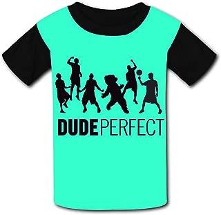 QIANBAIHUI Kids Youth Du-de-Per-fe-ct 3D Printed O-Neck T Shirt Tee