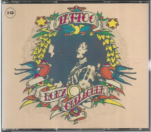 Rory Gallagher Tattoo mit Blueprint Doppel CD