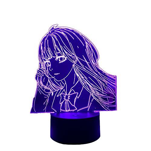 Lâmpada noturna de LED Kimi Ni Todoke para decoração de quarto de crianças, luz noturna, presente de aniversário, anime gadget quarto, abajur de mesa, Sawako Kuronuma