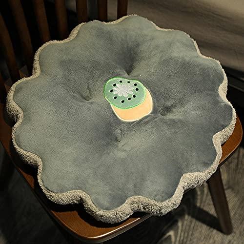 CPFYZH Cojín de Juguete de Felpa de Fruta de 45Cm, Bonito cojín de sofá Suave Relleno de Fresa, Kiwi, Zanahoria, decoración de Cama para el hogar, Regalo-Kiwi