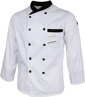 2d6fa78dc55 F Fityle Chaqueta de Chef para Hoteles Restaurantes Cafeterías Panaderías  para Aficionado de Cocina