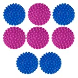 Opopark 8 Piezas Bolas de Secadora Secadora de Tambor Reutilizable Bolas de Secado Bola de Suavizante de Telas para Lavadora