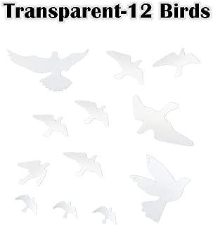 transparent bird silhouette