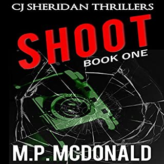 Shoot audiobook cover art