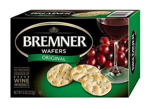 Bremner Wafers, Original Plain, 4-Ounce Box