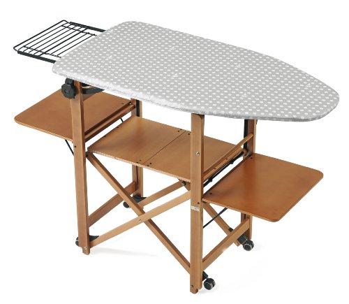 ARREDAMENTIITALIA Arredamenti Italia Mueble de Planchado Bravo, Madera - Plegable - Regulable - Color: Madera de Cerezo Ar-It il Cuore del Legno