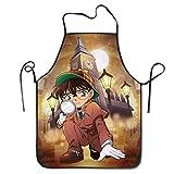 Shiniucun Detective Conan - Delantal unisex para cocina, jardinería, accesorios para hornear, 72 x...