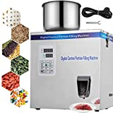 VEVOR Powder Filling Machine 2-200g, Automatic Powder Filler Machine 10-25 Bags/Min, Particle Weighing Filling Machine 110V for Beans Seeds Grains