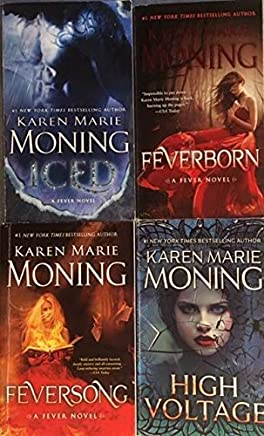 The Fever Series - 4 Book Set - Iced (Book 6) - Feverborn (book 8) - Feversong (Book 9) - High Voltage (Book 10)