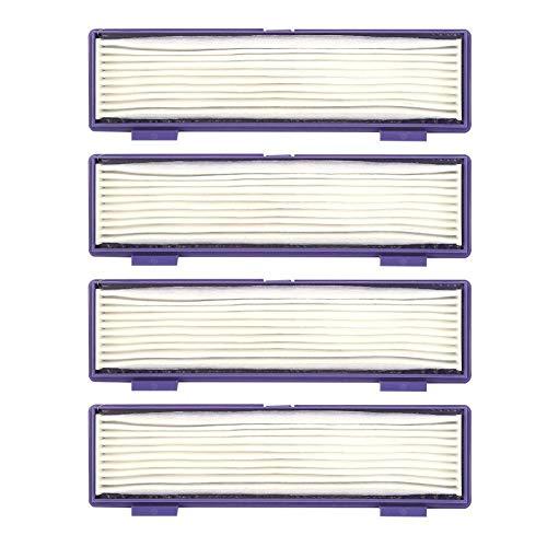 Tarente 4Pcs Aspirateur Filtre de Rechange for Accessoire Fit Neato 70E 75 80 85 d75 d80 d85 d3 d5 d7