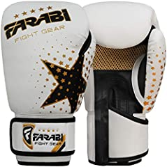 Farabi Guantes de boxeo Niñas 6 onzas