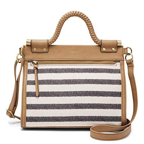 Relic by Fossil Women's Allie Crossbody Handbag, Color: Black/White Model: (RLH9006005)