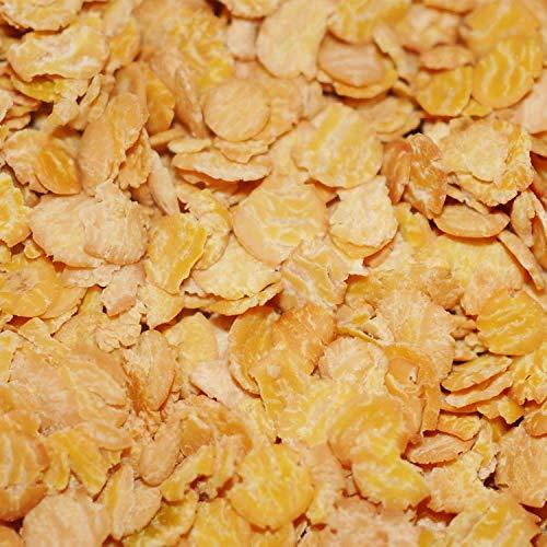 12,99€ (12,99€ pro 1kg) 1000g Bio Sojaflocken aus Österreich ideal fürs Müsli | 1 kg | plastikfrei verpackt Soja-Flocken nährstoffreich & vegan, reich an pflanzlichen Proteinen | STAYUNG DE-ÖKO-070