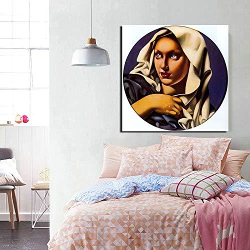 Tapete Leinwand Bilder Wohnzimmer Wohnkultur Moderne Wandkunst Ölgemälde Poster Bilder Rahmenlose Malerei40x40cm