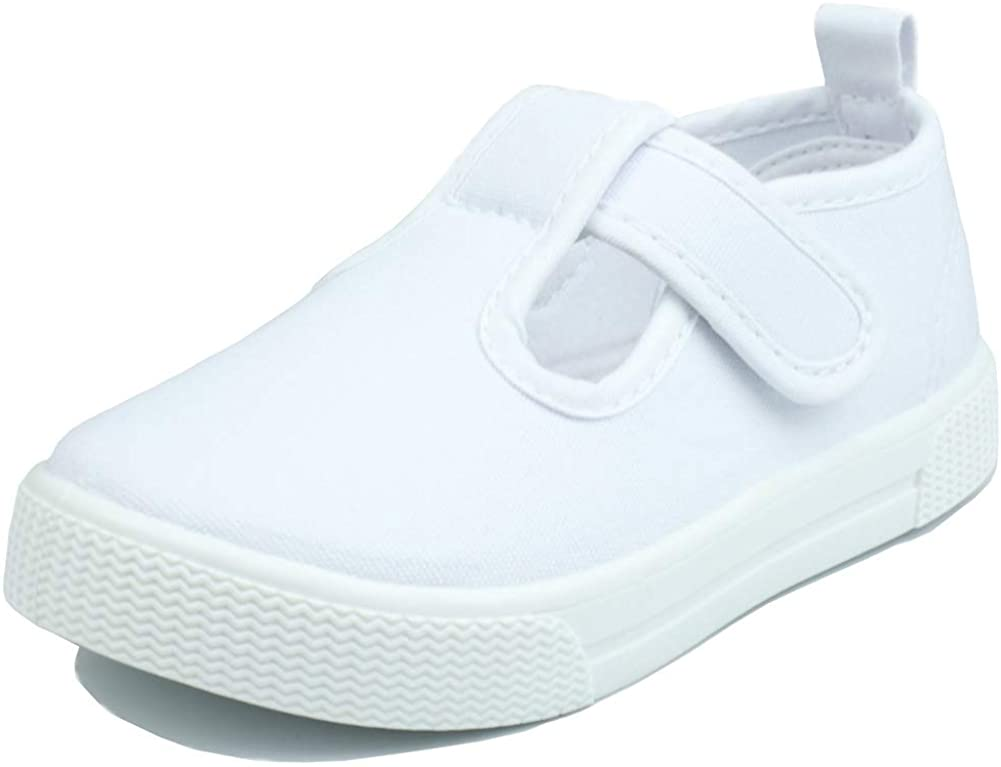 LB LAWBUCE Toddler Girls T-Strap Sneakers Max 43% OFF Mary Super popular specialty store Kids Jane Canvas