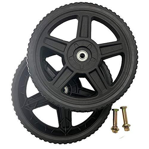 Raisman Set of 2 Wheels Kit for Push Mowers (10' Inch)