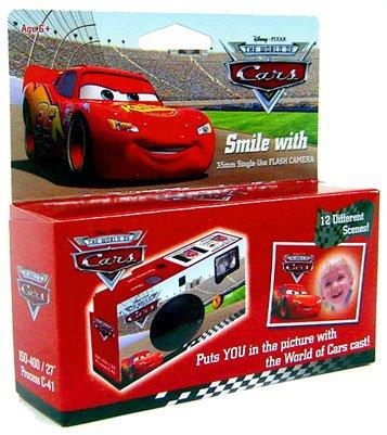 Disney Cars 35mm Single Use Camera