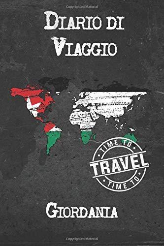 Diario di Viaggio Giordania: 6x9 Diario di viaggio I Taccuino con liste di controllo da compilare I Un regalo perfetto per il tuo viaggio in Giordania e per ogni viaggiatore