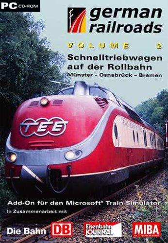 Train Simulator - German Railroads Vol.2 (Schnelltriebwagen auf der Rollbahn)