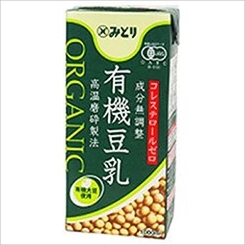 九州乳業『有機豆乳 ORGANIC SOY MILK 成分無調整』