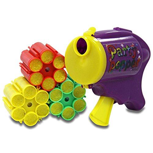 Pistolet à confettis 12 coups