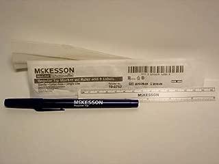 McKesson Surgical Skin Marker Gentian Violet Standard Tip Ruler Sterile
