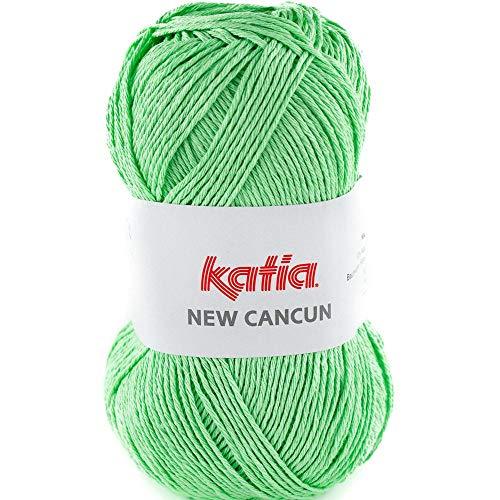 Lanas Katia New Cancun Ovillo de Color Manzana Cod. 94