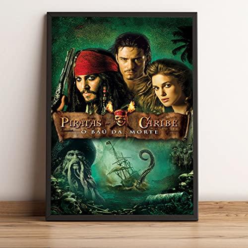 Quadro decorativo Piratas Do Caribe O Bau Da Morte Capa