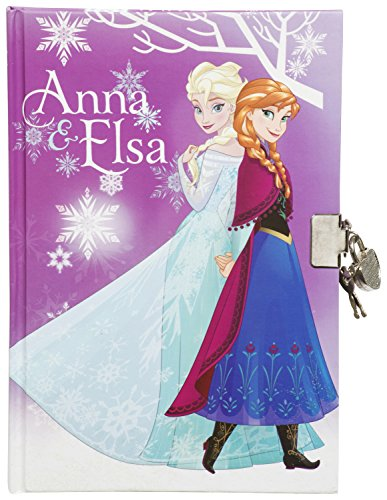 La Reine des Neiges - Journal Intime Deluxe avec Cadenas - Elsa et Anna et Olaf au Dos