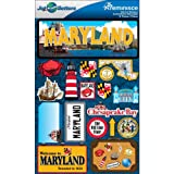 Reminisce Jet Setters 2 3-Dimensional Sticker, Maryland