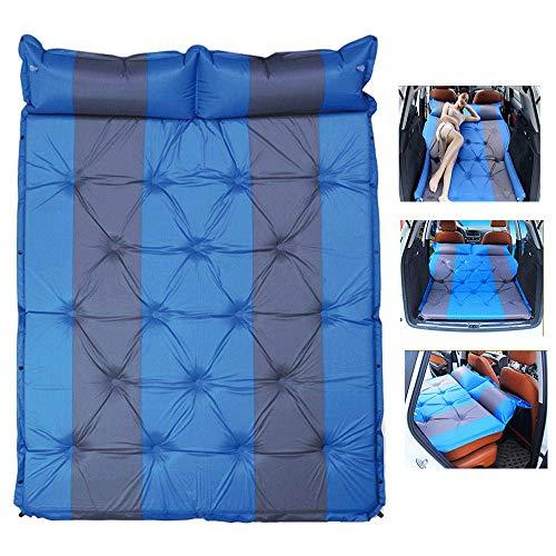 Auto Automatische opblaasbaar bed camoufleren opvouwbaar luchtbed - achterbank verlengde luchtbank kussen met pomp, camping outdoor reizen Verdikt luchtbed 188 x 130 cm