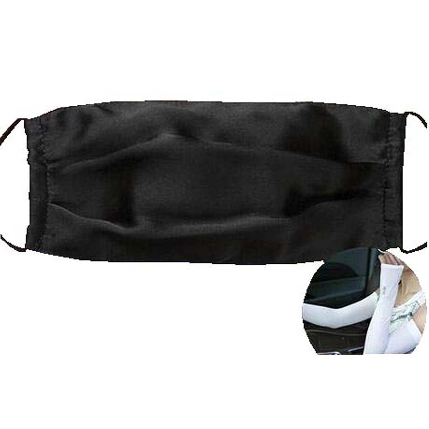 変装した麦芽政権ファッションマスクダストマスクアンチ汚染シルクマスクとシルクアームスリーブ