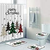 ARTIFUN 4PCS Christmas Shower...