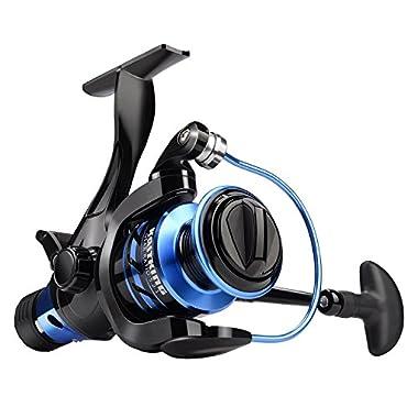 KastKing NEW Pontus Baitfeeder Spinning Reel for Live Lining Fishing 9+1 Ball Bearings Up to 26.5 Lbs/ 12 Kg Drag