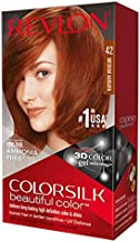 Revlon ColorSilk Hair Color, 42 Medium Auburn 1 ea (Pack of 9)