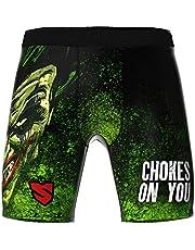 SMMASH Choker Profesionalmente Vale Tudo Pro Shorts, Pantalones Cortos Hombre MMA, Muay Thai, BJJ, Grappling, Material Transpirable y Antibacteriano